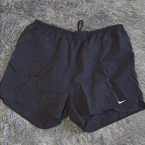 5/$15 black nike workout shorts